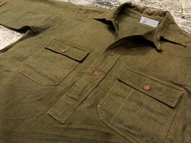 10月3日(水)大阪店冬物ヴィンテージ入荷!#10 U.S.Army編!!~30\'s Military Beacon Blanket by Champion Knitwear Mills!!_c0078587_3304472.jpg
