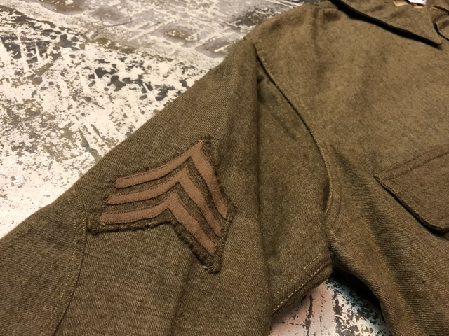 10月3日(水)大阪店冬物ヴィンテージ入荷!#10 U.S.Army編!!~30\'s Military Beacon Blanket by Champion Knitwear Mills!!_c0078587_3315573.jpg