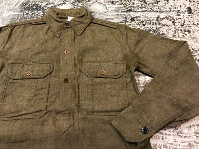 10月3日(水)大阪店冬物ヴィンテージ入荷!#10 U.S.Army編!!~30\'s Military Beacon Blanket by Champion Knitwear Mills!!_c0078587_3341232.jpg