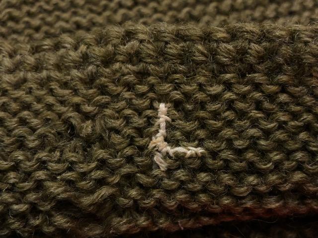 10月3日(水)大阪店冬物ヴィンテージ入荷!#10 U.S.Army編!!~30\'s Military Beacon Blanket by Champion Knitwear Mills!!_c0078587_352463.jpg