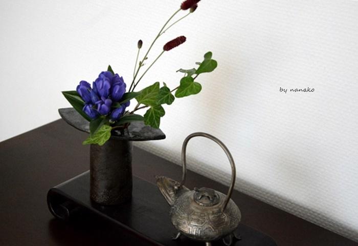 秋の花を飾る。_c0364500_01570707.jpg