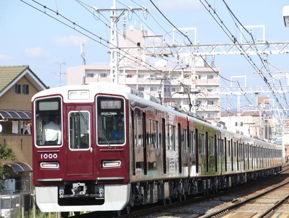 阪急1000系 1000F 初の検査明け試運転_d0202264_19433849.jpg