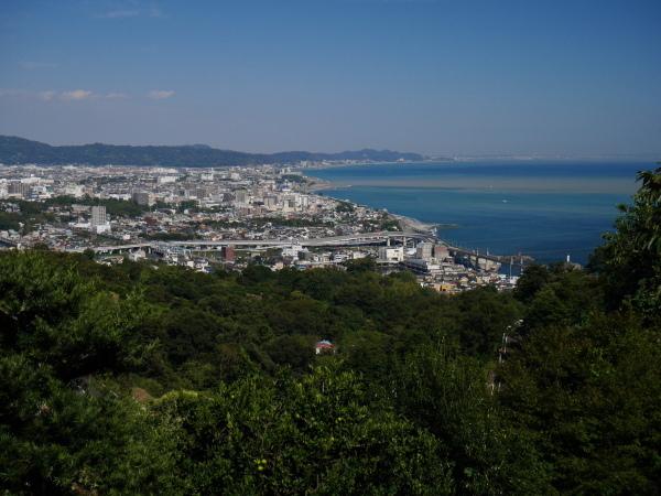 石垣山から早川漁港_a0351368_22280753.jpg