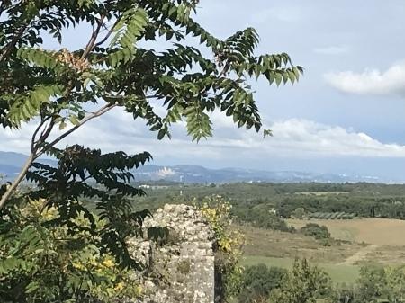 久々にモンテリッジョーニの城壁に上る_a0136671_03171674.jpeg