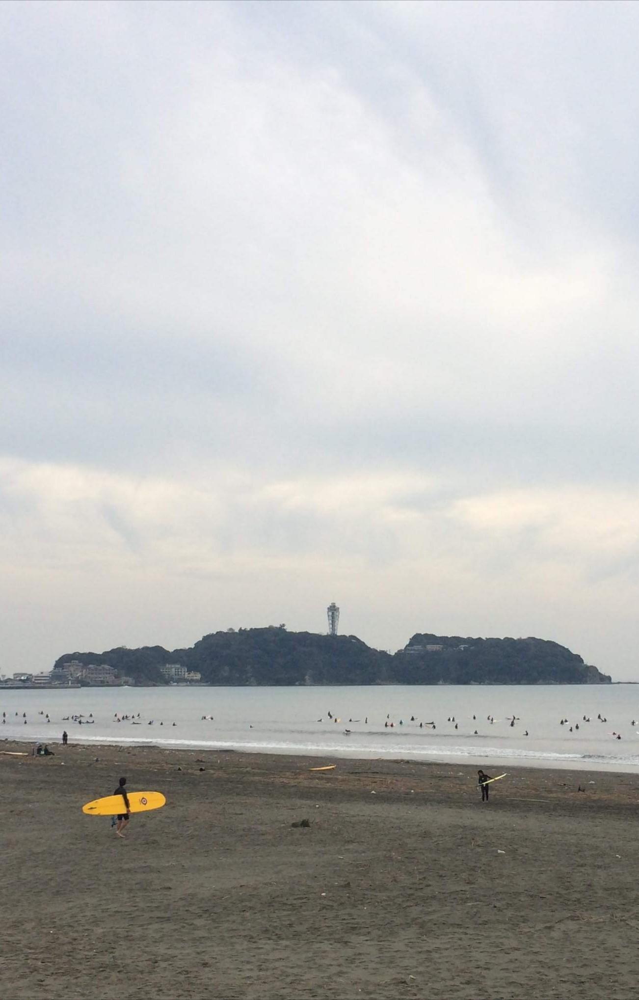 タイミング☆ ヒーリング散歩 @ 鵠沼海岸_a0349374_18433457.jpg