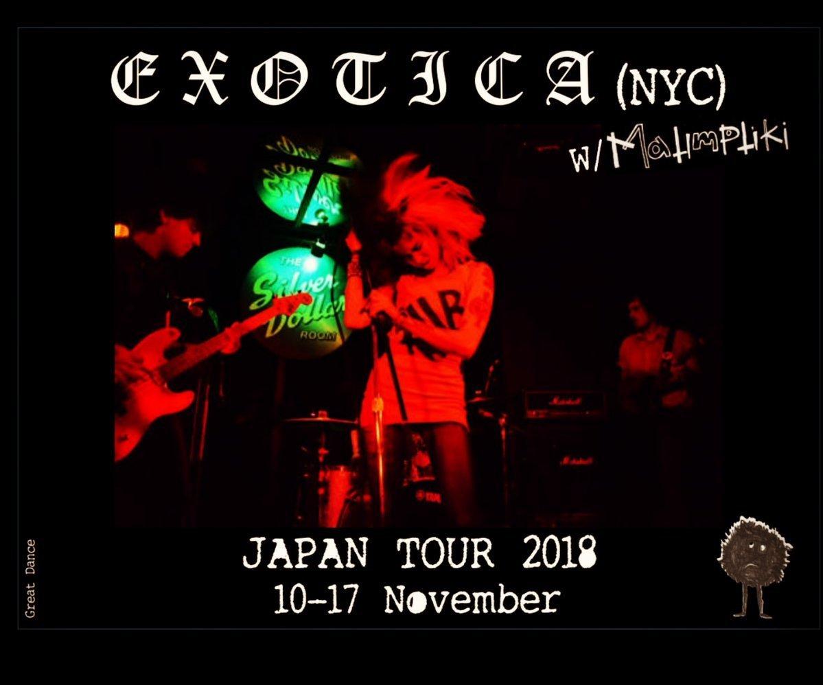 EXOTICA (N.Y.C) JAPAN TOUR_c0234515_16135854.jpg