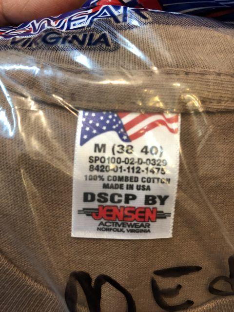 アメリカ仕入れ情報#64 LONG SLEEVE 3枚パック U.S ARMY UNDER WEAR_c0144020_17380846.jpg