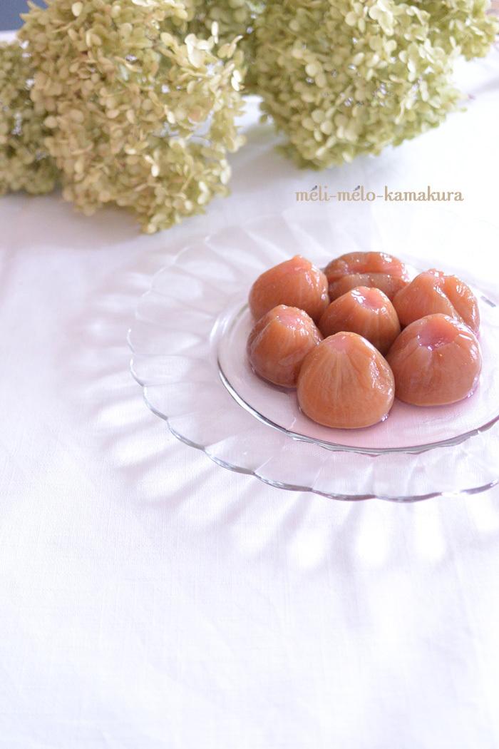 ◆母作!イチジクの白ワイン煮とドライアナベル♪_f0251032_10325529.jpg