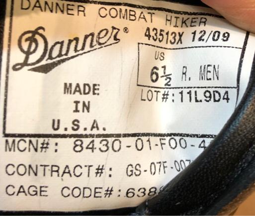 アメリカ仕入れ情報#73 10/6入荷! Danner COMBAT HIKER !_c0144020_11500740.jpg