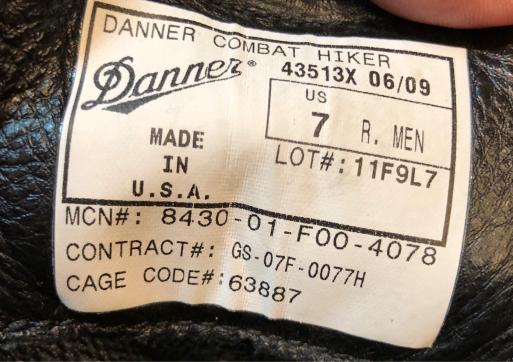 アメリカ仕入れ情報#73 10/6入荷! Danner COMBAT HIKER !_c0144020_11500802.jpg
