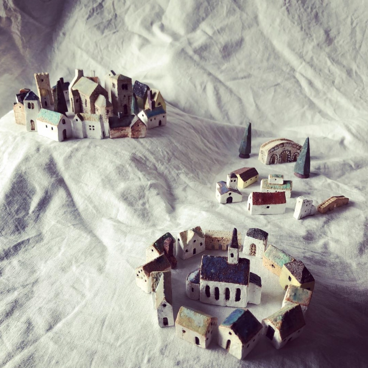 ふしぎかわいいものたち展part2出品作品〜街や村、教会、城、神殿など〜_a0137727_10423593.jpeg