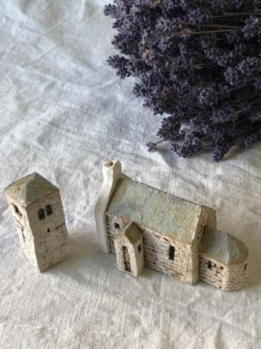 ふしぎかわいいものたち展part2出品作品〜街や村、教会、城、神殿など〜_a0137727_10473161.jpeg