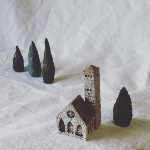 ふしぎかわいいものたち展part2出品作品〜街や村、教会、城、神殿など〜_a0137727_10504545.jpeg