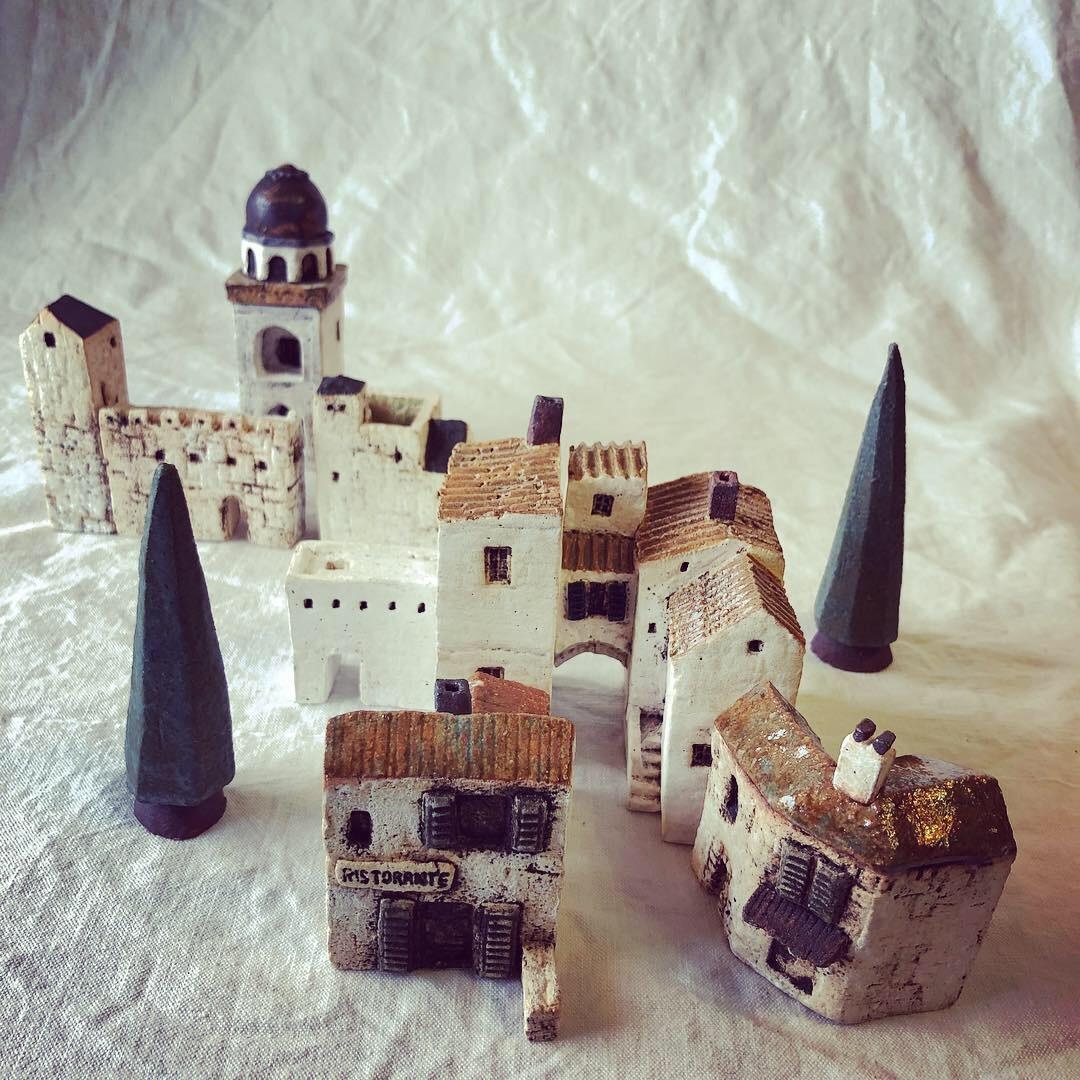ふしぎかわいいものたち展part2出品作品〜街や村、教会、城、神殿など〜_a0137727_10521151.jpeg