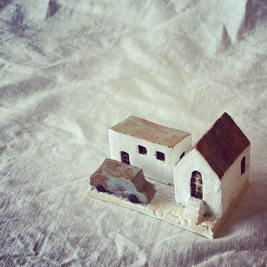 ふしぎかわいいものたち展part2出品作品〜街や村、教会、城、神殿など〜_a0137727_10552427.jpeg