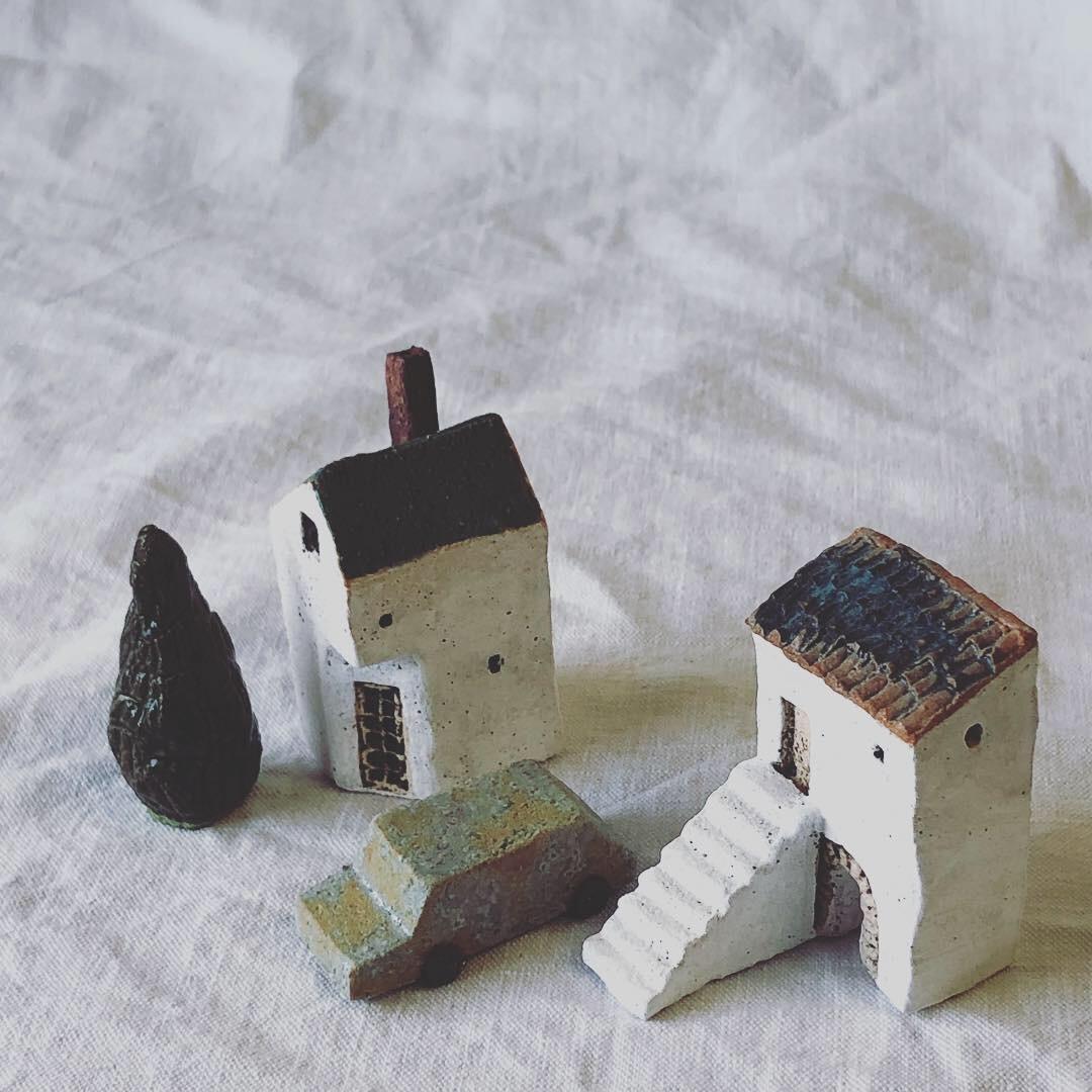 ふしぎかわいいものたち展part2出品作品〜街や村、教会、城、神殿など〜_a0137727_10591405.jpeg