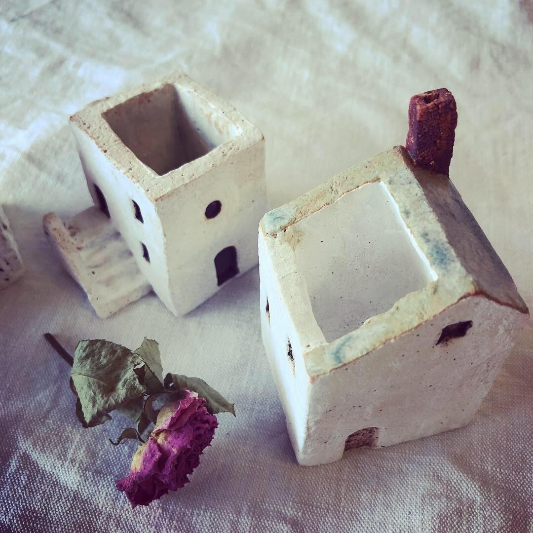 ふしぎかわいいものたち展part2出品作品〜街や村、教会、城、神殿など〜_a0137727_11080209.jpeg