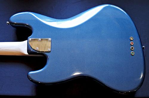 「Gunmetal Blue MetallicのStandard-J」1本目が完成です!_e0053731_15532453.jpg