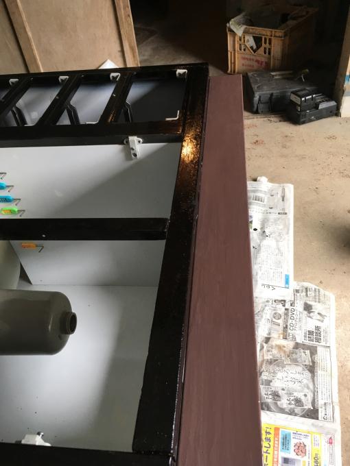 キッチンその4。水性塗料と油性塗料って…_f0182246_08524860.jpg