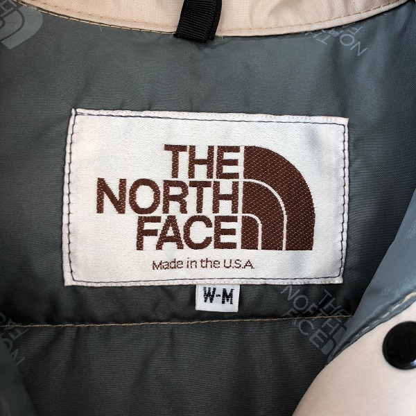 THE NORTH FACE DOWN VEST_c0146178_18221217.jpg