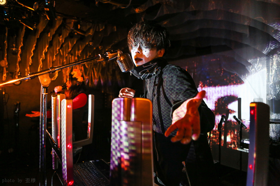 『ウクバールの四重奏』渋谷LOFT HEAVENにて_e0084214_16291749.jpg