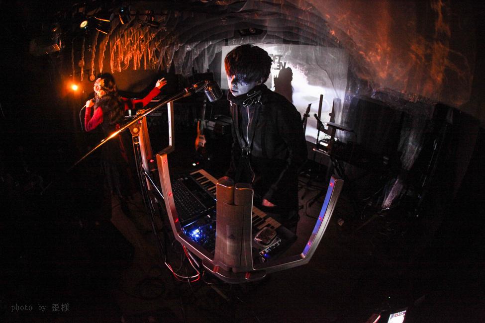 『ウクバールの四重奏』渋谷LOFT HEAVENにて_e0084214_16292133.jpg