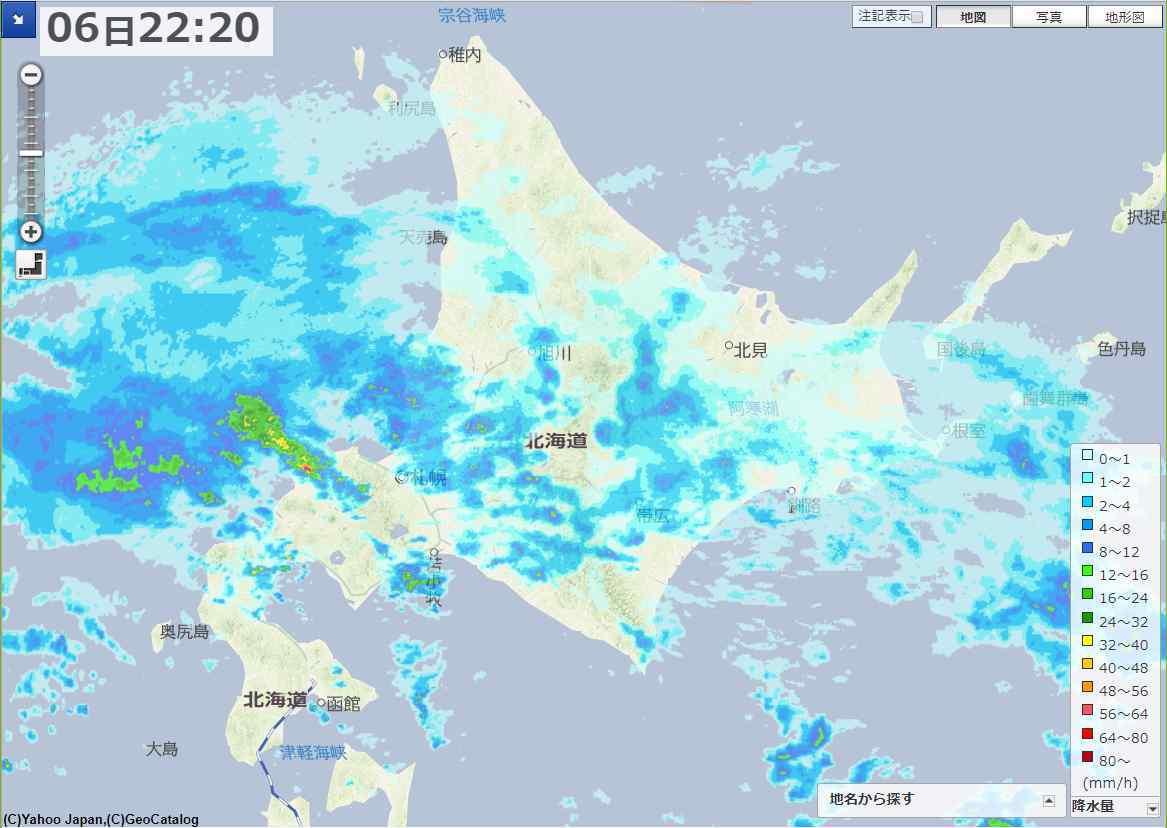 台風25号は北海道を直撃するのか_c0025115_23002414.jpg