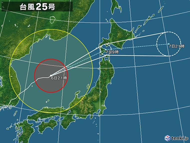 台風25号は北海道を直撃するのか_c0025115_23014400.jpg