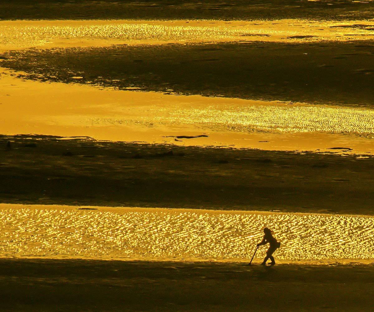 夕景 回想⑤)御輿来海岸の砂紋様=熊本県宇土市_d0238245_13522031.jpg