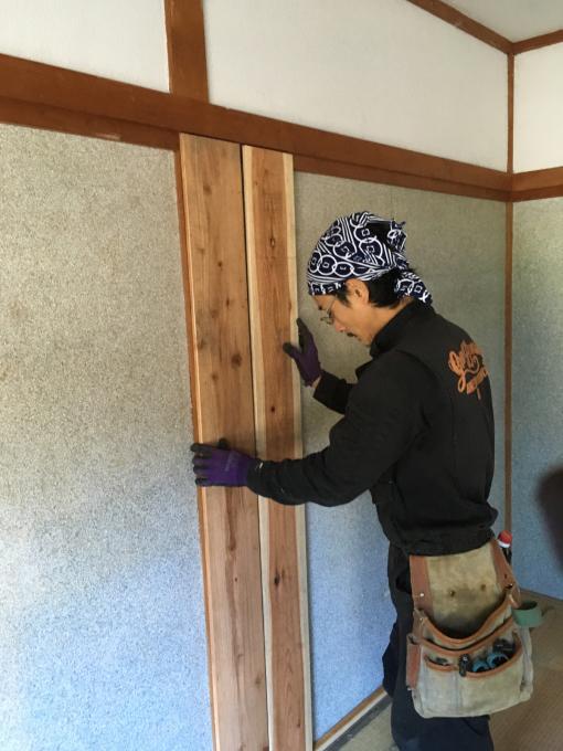 娘の部屋その3。さあ壁をどうする。_f0182246_22352477.jpg