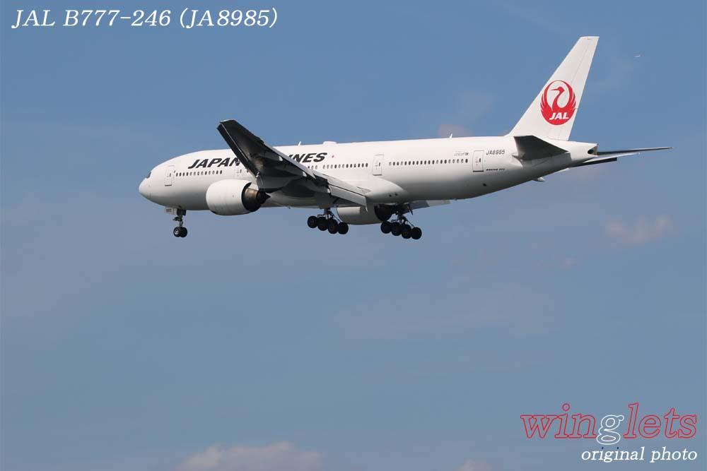 '18年 川崎・浮嶋公園レポート ・・・ JAL/JA8985_f0352866_2294975.jpg