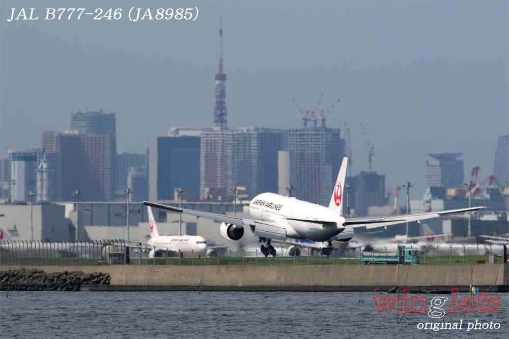 '18年 川崎・浮嶋公園レポート ・・・ JAL/JA8985_f0352866_229593.jpg