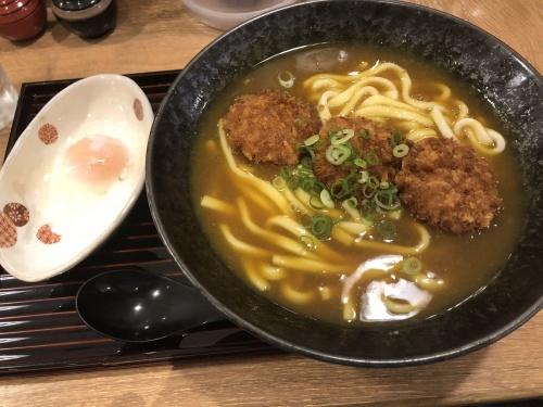 旅の途中や〆にどうぞ「京のカレーうどん味味香 ポルタ店」さん_c0180091_17214204.jpg
