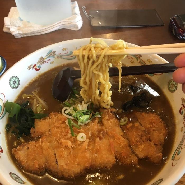 昼活@白鳥大橋 カツカレーラーメンを食べに行こう! 20180929_c0226202_21281539.jpg