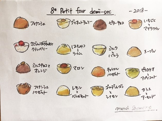 「Petit four 2018」 _a0120513_18282580.jpeg