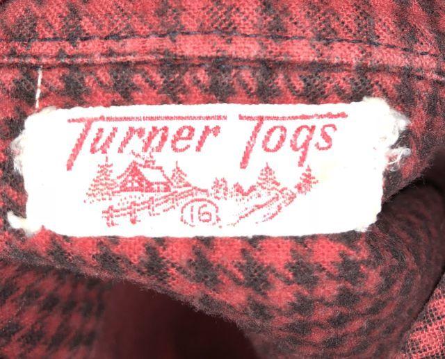11月8日(月)入荷!50s ハウングツース(千鳥格子)TURNER TOGS ライトネルシャツ!_c0144020_15322485.jpg