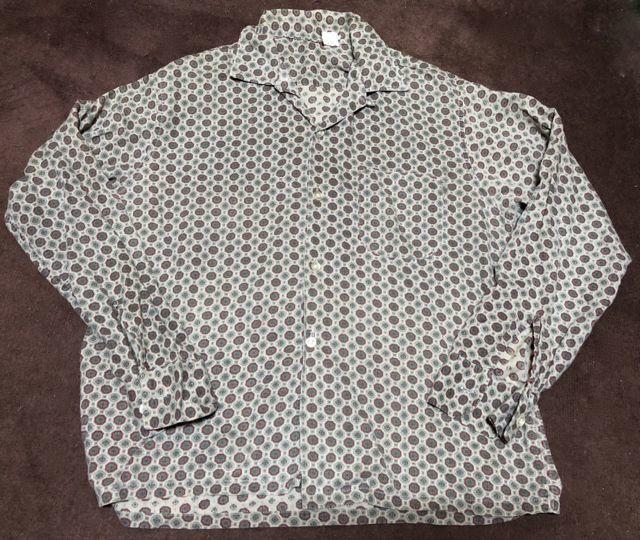 11月8日(月)入荷!60s 小紋柄 オープンカラー ボックスシャツ!_c0144020_15350093.jpg