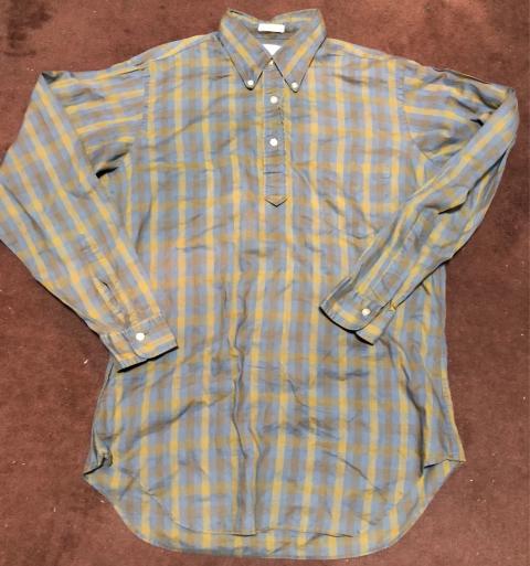 10/8(月)入荷!60s all cotton プルオーバーシャツ_c0144020_21163303.jpg