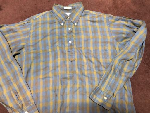 10/8(月)入荷!60s all cotton プルオーバーシャツ_c0144020_21163576.jpg