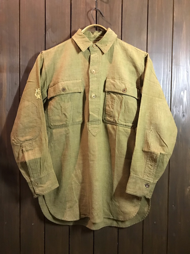 神戸店10/10(水)冬Vintage入荷! #2 WWⅠ DoughBoy Shirt!!!_c0078587_17144285.jpg