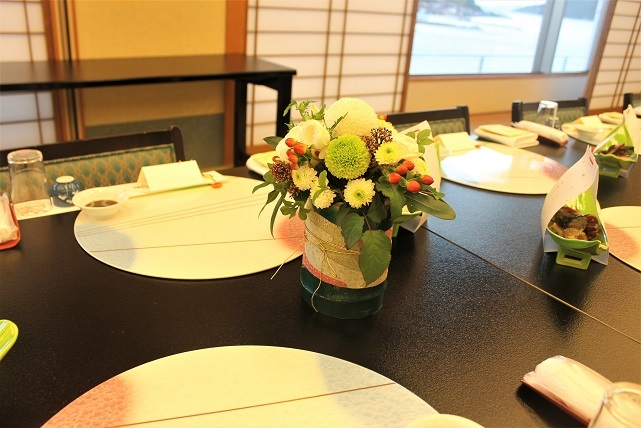 結婚披露宴 装花_d0227610_17444058.jpg