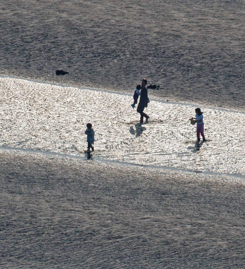 夕景 回想⑤)御輿来海岸の砂紋様=熊本県宇土市_d0238245_15155666.jpg