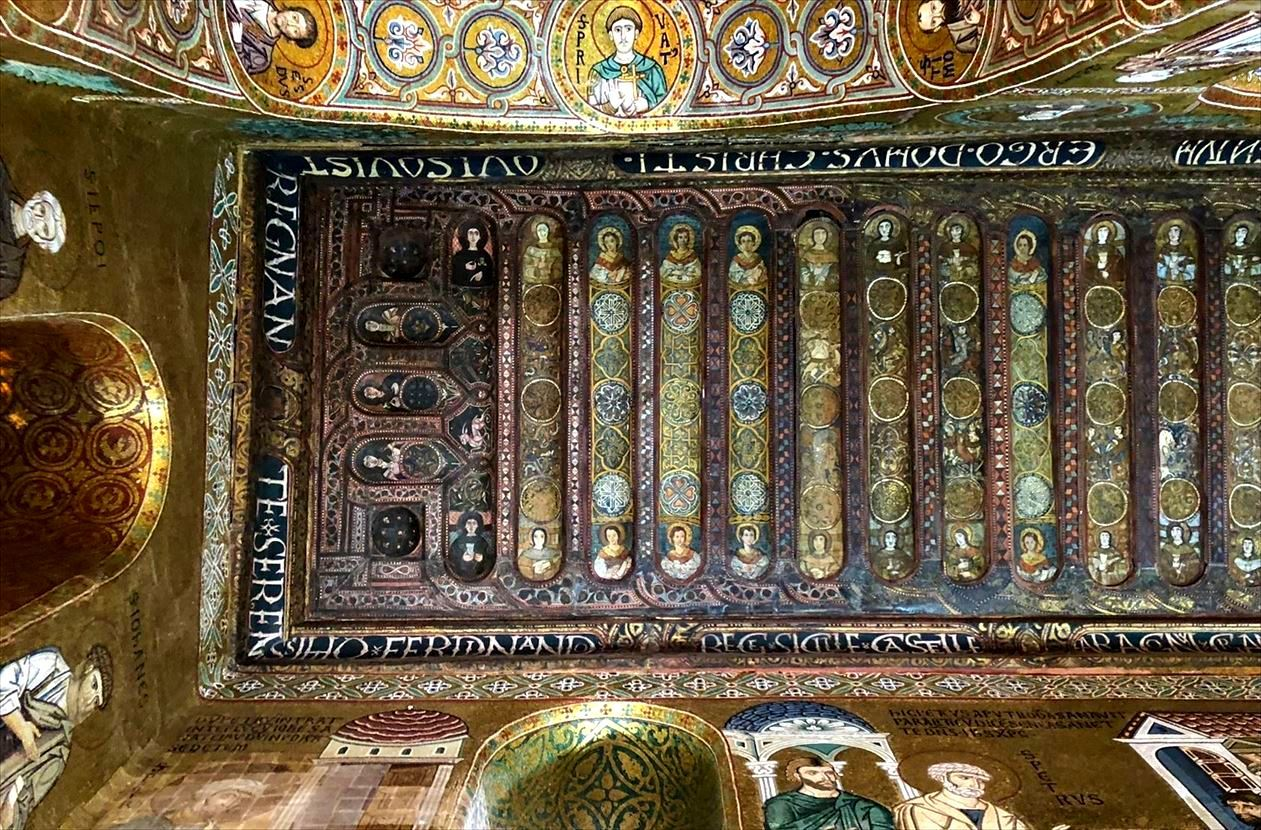 パレルモ 2  圧巻のモザイク装飾 パラティーナ礼拝堂_a0092659_23250266.jpg