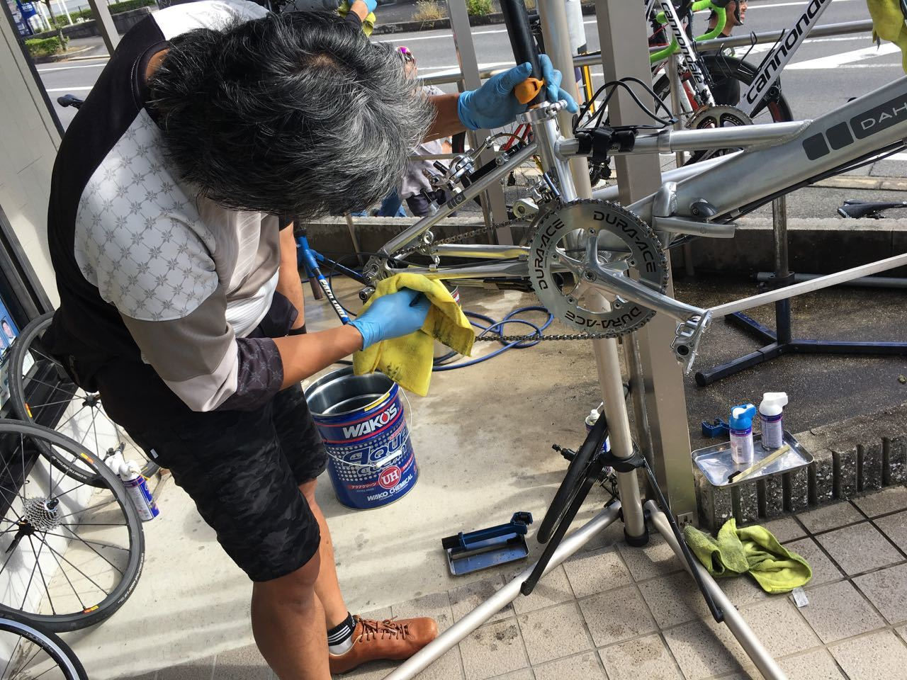 2018.10.07「モリコロパークからの洗車講習会」_c0197974_10373071.jpg