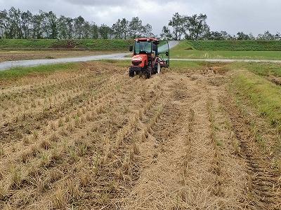 """収穫が終わって、さっそく来年の\""""土づくり\""""!_c0336902_19421026.jpg"""