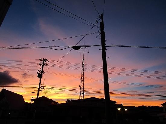 台風が来る前の空_c0327752_10054456.jpg