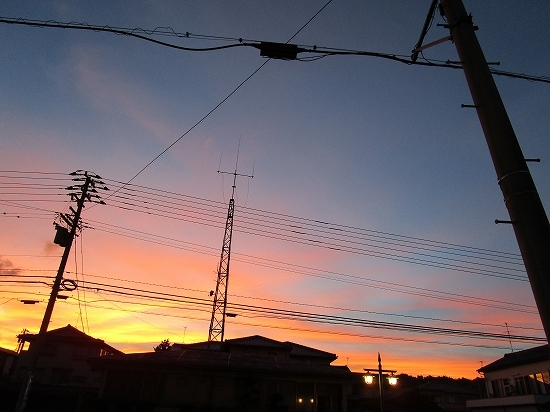 台風が来る前の空_c0327752_10095489.jpg