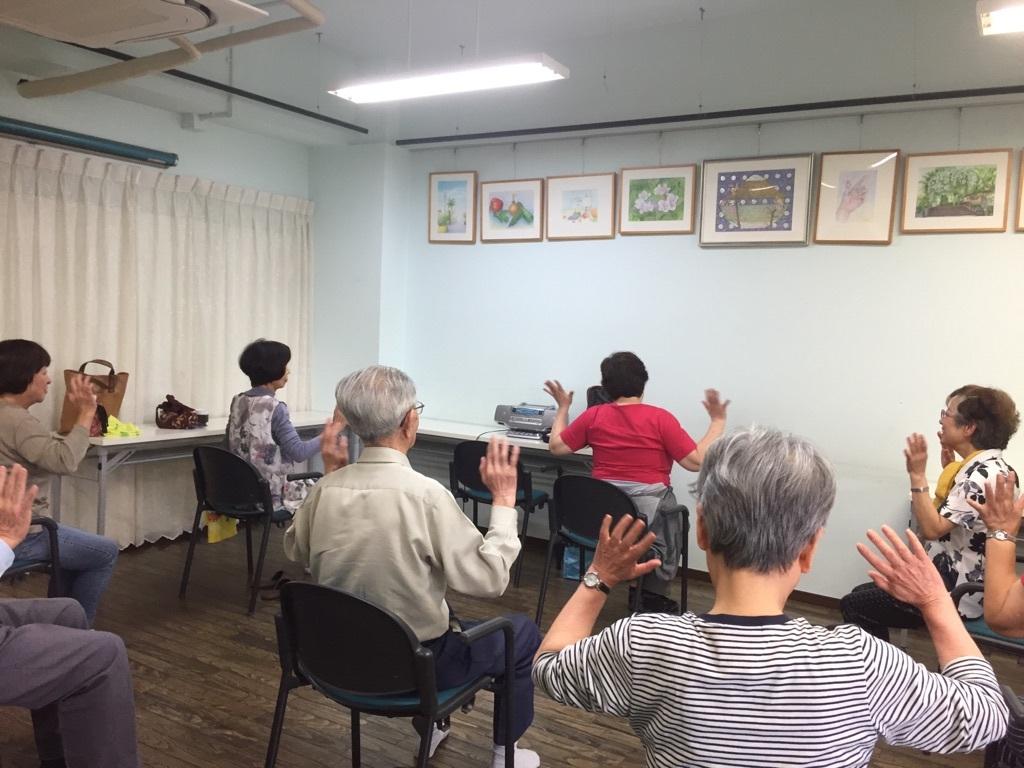 懐メロ体操&健康教室_c0113948_14535937.jpg