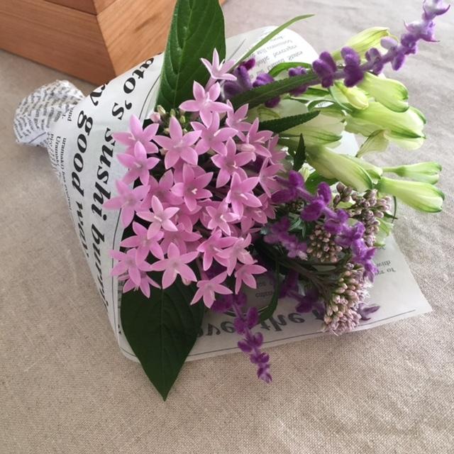 Autumn bouquet  母へ_a0165160_17263472.jpg