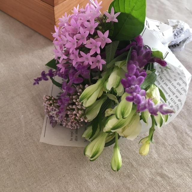 Autumn bouquet  母へ_a0165160_17294916.jpg